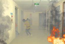 thoát hiểm khỏi đám cháy