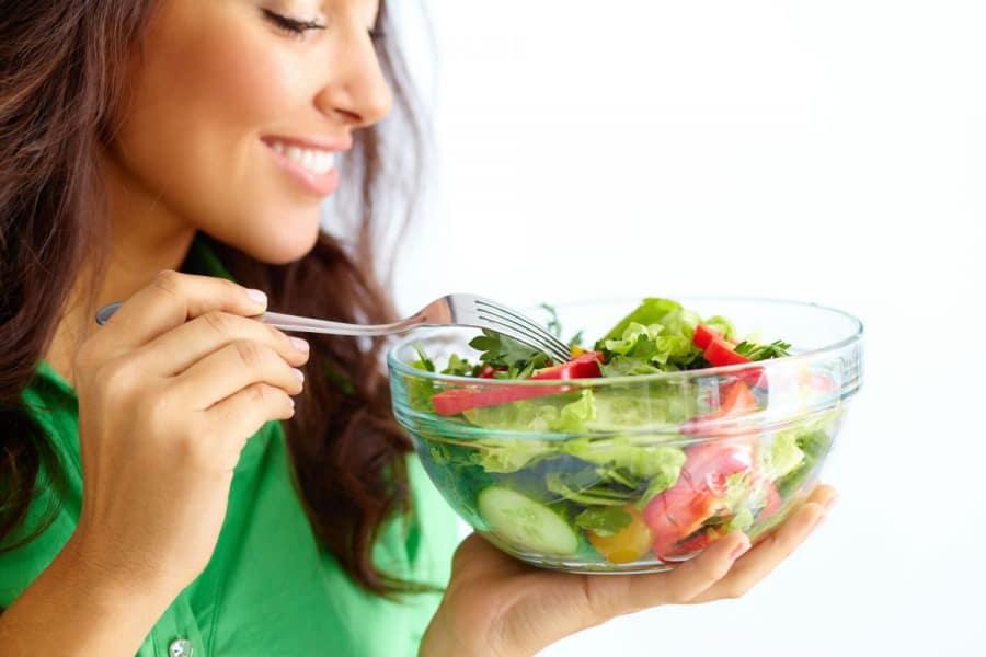 ăn rau gì