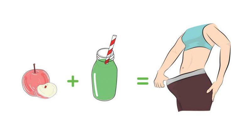 nước ép giảm mỡ bụng