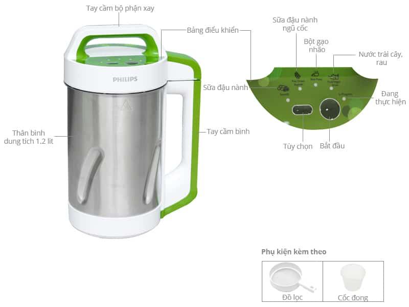 máy làm sữa đậu nành